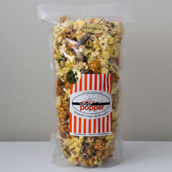 Island Popper Big Island Mix Gourmet Popcorn in Hawaii