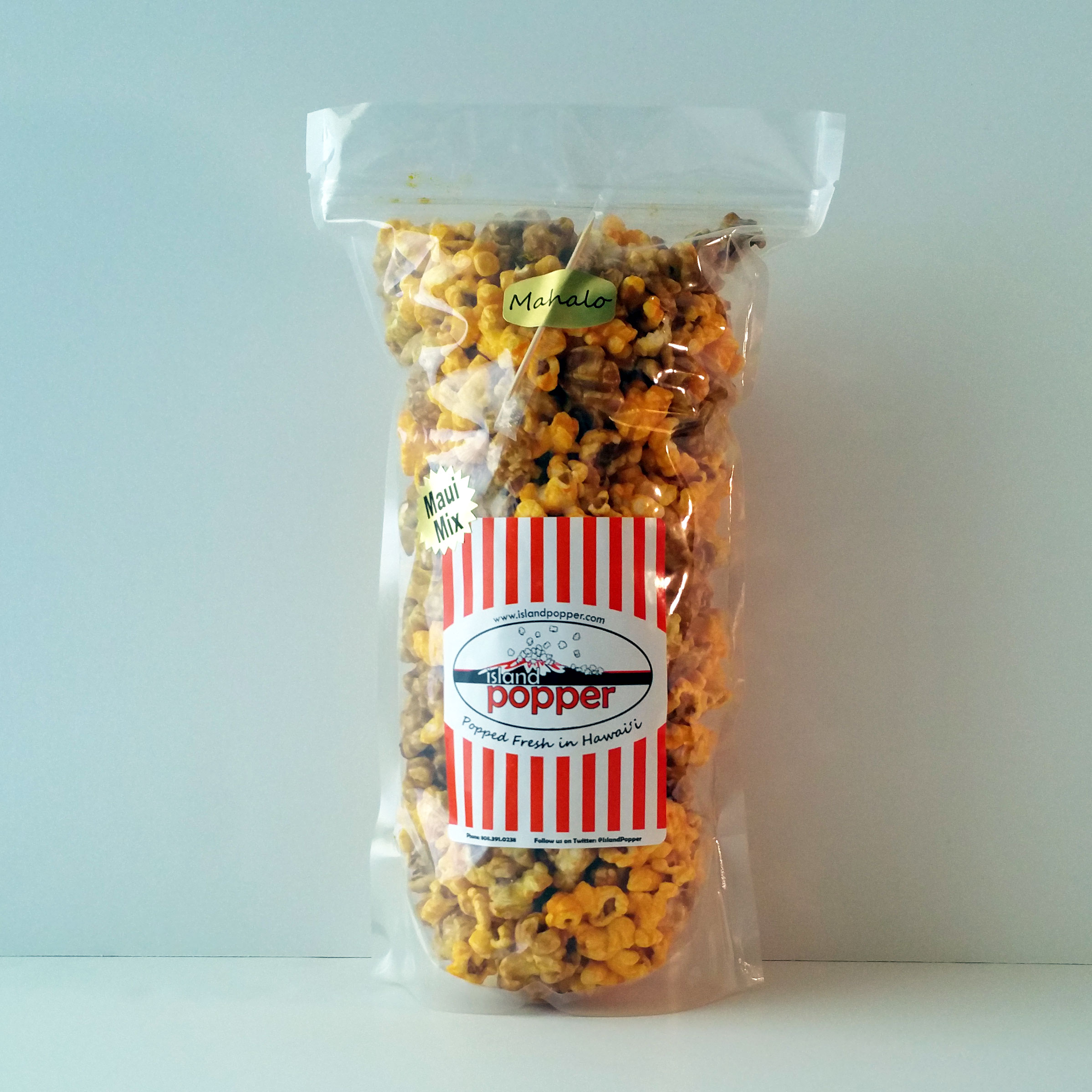 Maui MixRich, buttery Caramel combined with our Real Cheddar Cheese popcorn