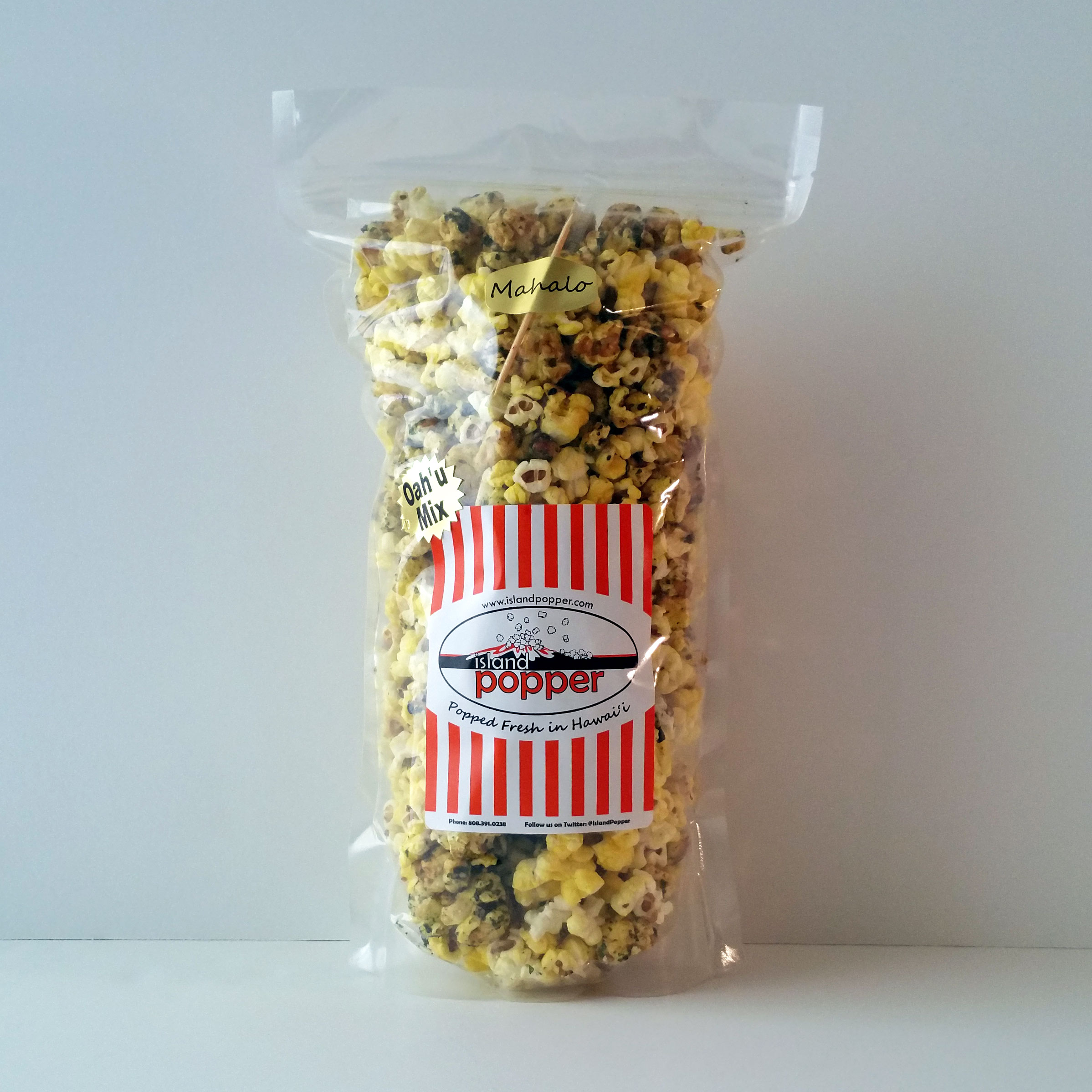 Oahu MixSweet and crisp Original Furikake mixed with our classic Organic Butter popcorn