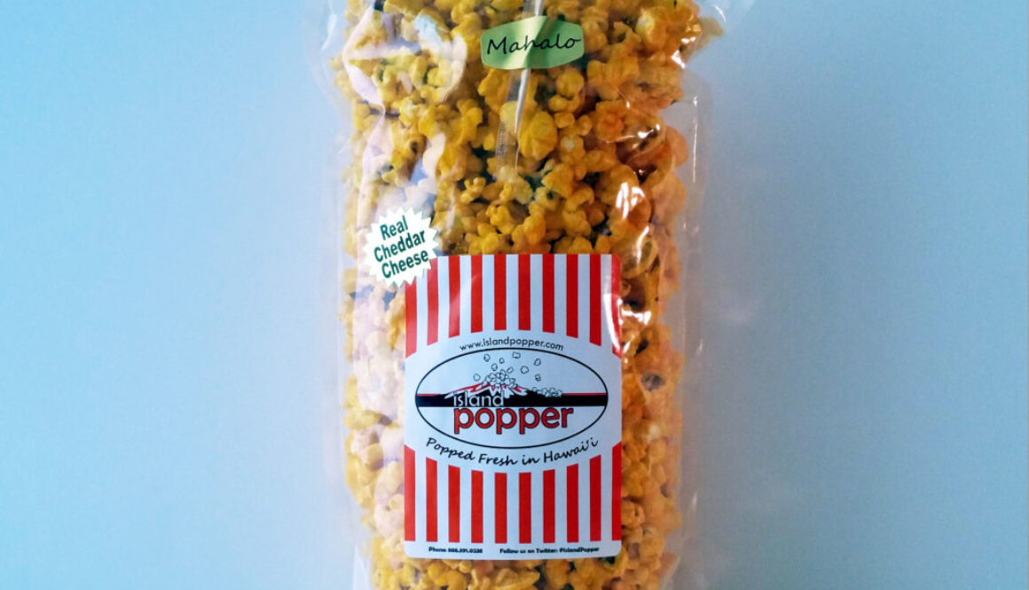 Real Cheddar Cheese Popcorn