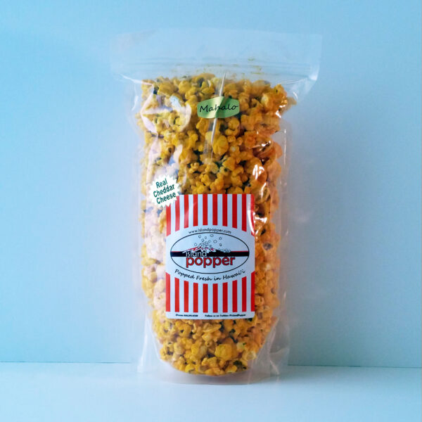 Island Popper Real Cheddar Cheese Gourmet Popcorn in Hawaii