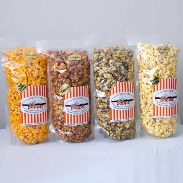 Island Popper Mix & Match Gourmet Popcorn in Hawaii