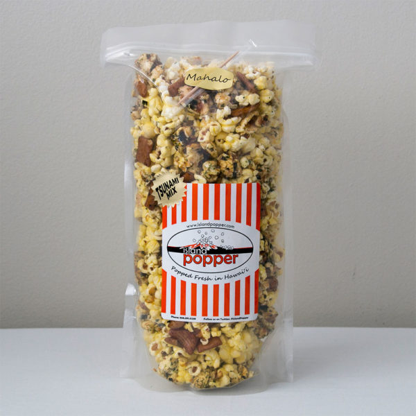 Island Popper Tsunami Mix Gourmet Popcorn in Hawaii